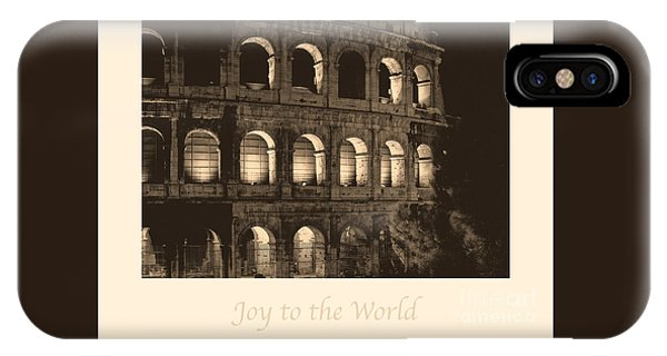 joy to the world iphone case joy to the world with colosseum by prints of