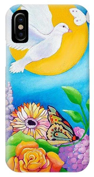 Joyful Garden #1 Right Panel IPhone Case
