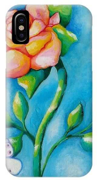Joyful Garden #2 Top Panel IPhone Case