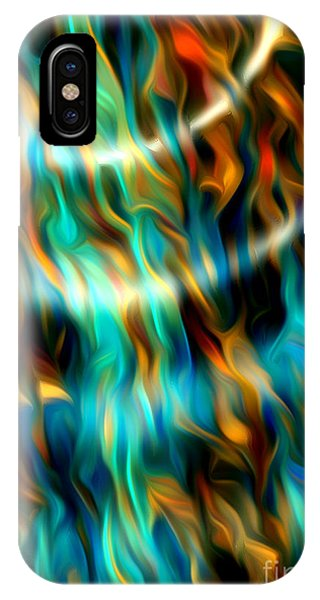 Joyful Waves - Abstract Art By Giada Rossi IPhone Case