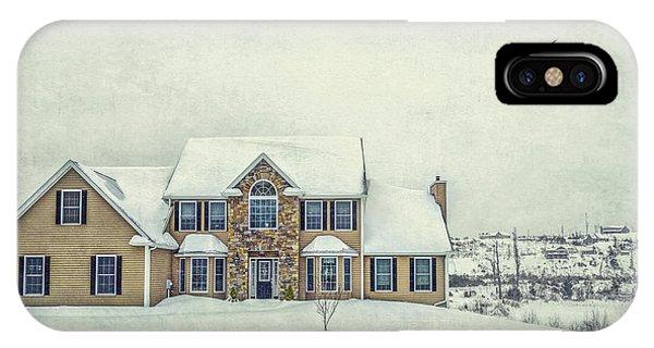 Home iPhone Case - Joyless Trance Of Winter by Evelina Kremsdorf