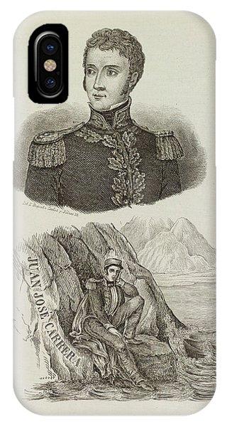 Juan Jose Carrera IPhone Case