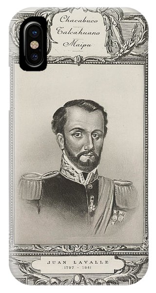 Juan Lavalle IPhone Case