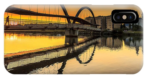 Jubia Bridge Naron Galicia Spain IPhone Case