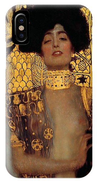 Judith And The Head Of Holofernes IPhone Case