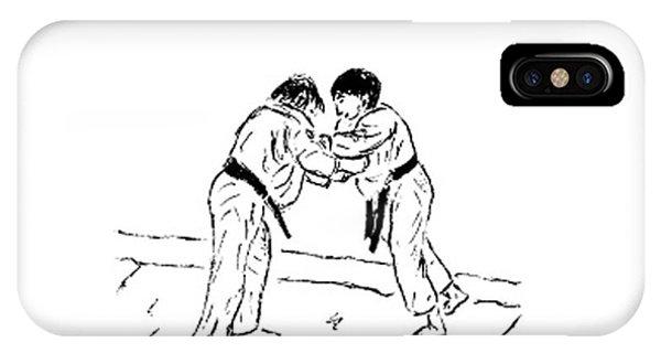 Judo IPhone Case
