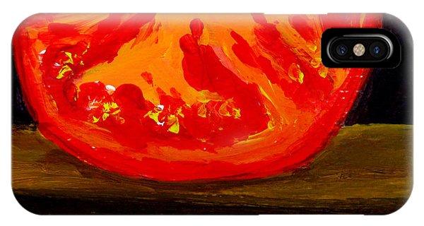 Juicy Tomato Modern Art IPhone Case