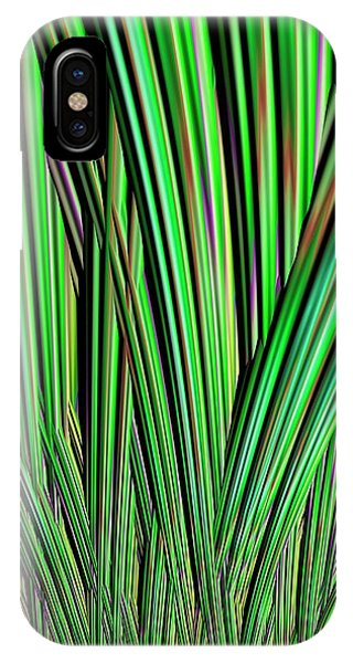 Julia Fractal iPhone X Case - Julia Fractal by Alfred Pasieka