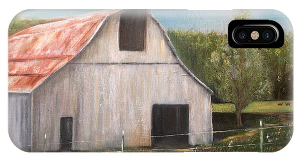 Julian Homestead Barn IPhone Case