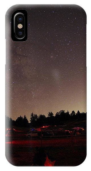 Julian Night Sky Milky Way IPhone Case