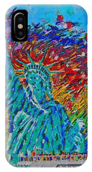 July 4 Celebration  IPhone Case