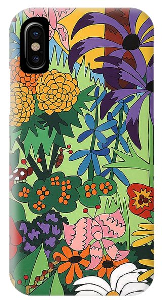 July Garden IPhone Case