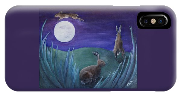 Jumping The Moon IPhone Case