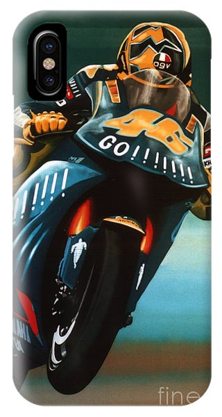 Jumping Valentino Rossi  IPhone Case
