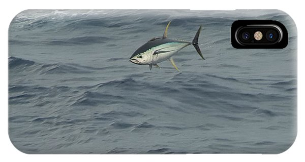 Jumping Yellowfin Tuna IPhone Case