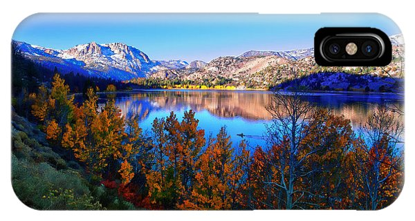 June Lake California Sunrise IPhone Case