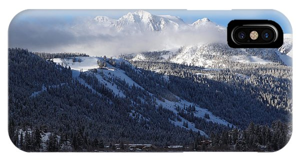 June Lake Winter IPhone Case