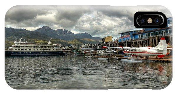 Juneau's Hangar On The Wharf IPhone Case