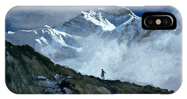 Rocky Mountain iPhone Case - Jungfrau by John Cooke