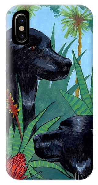 Jungle Dogs IPhone Case