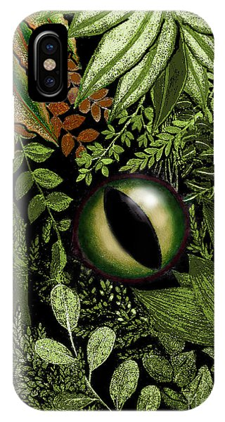 Jungle Eye IPhone Case