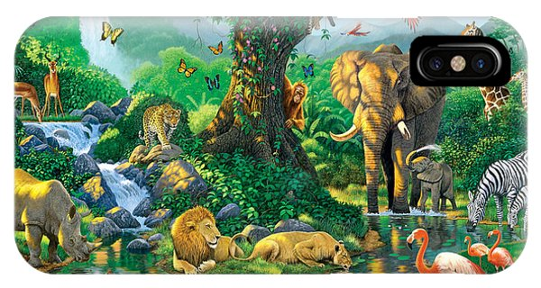 Jungle Harmony IPhone Case