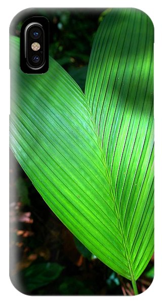 Jungle Heart IPhone Case