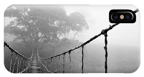 Gloomy iPhone Case - Jungle Journey 5 by Skip Nall