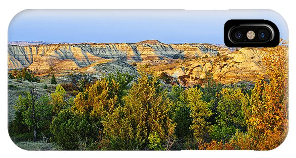 North Dakota Badlands iPhone Case - Juniper And Canyons, Little Missouri by T. C. Knight