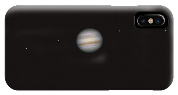 Jupiter And 4 Galilean Moons IPhone Case