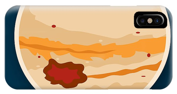 Space iPhone Case - Jupiter by Christy Beckwith