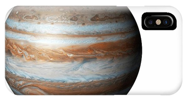 Cutout iPhone Case - Jupiter From Space by Mikkel Juul Jensen