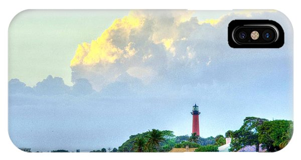 Jupiter Lighthouse Artsy IPhone Case