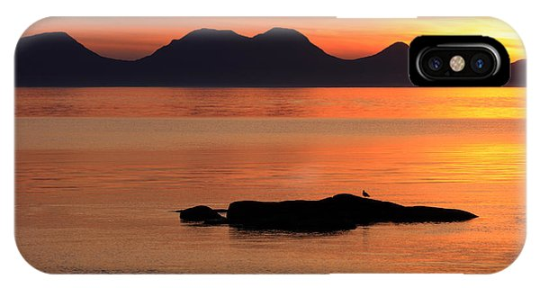Jura Sunset IPhone Case