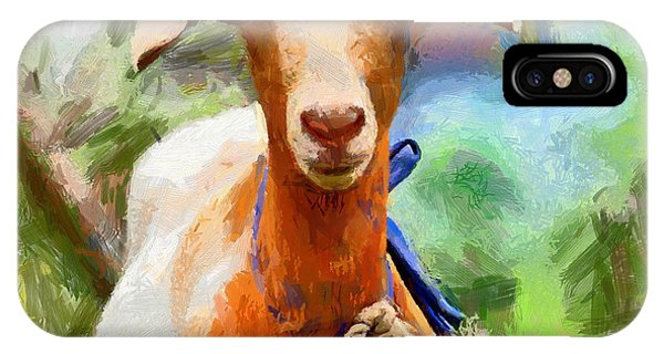 Just A Goat IPhone Case