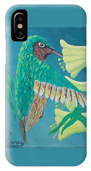 Just A Hummingbird IPhone Case