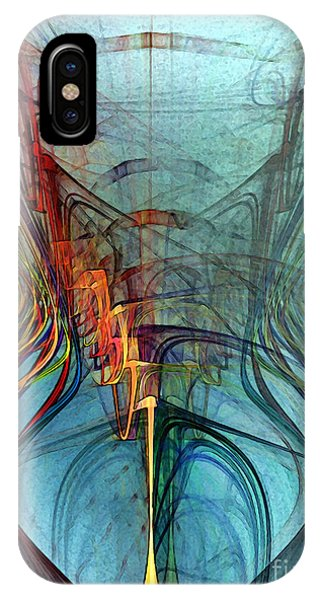 Just A Melody-abstract Art IPhone Case