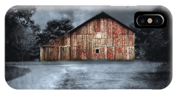 Night Time Barn IPhone Case