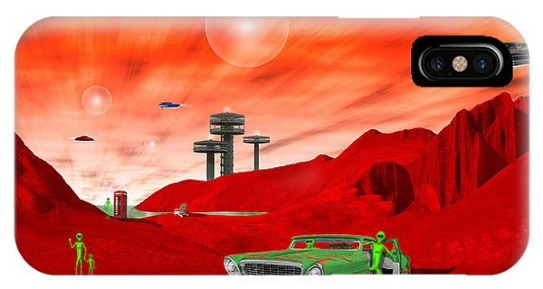 Just Another Day On The Red Planet 2 IPhone Case