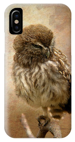 Just Awake Little Owl IPhone Case