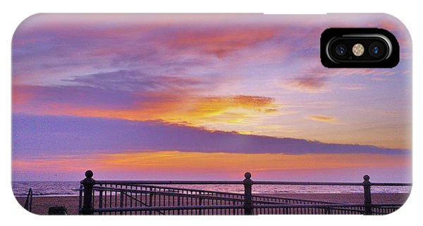 Just Before Sunrise IPhone Case