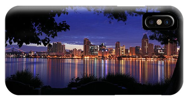 Just Before Sunrise San Diego IPhone Case