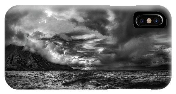 Storm iPhone Case - Just Before The Storm ... by Yvette Depaepe