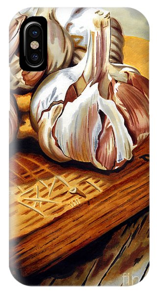 Just Garlic IPhone Case