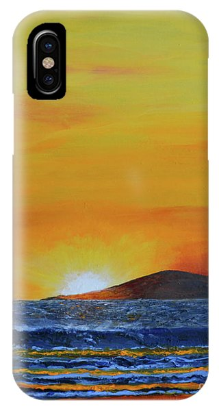 Just Left Maui IPhone Case