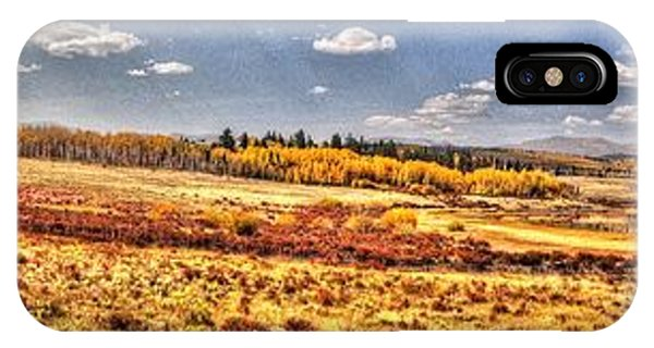 Just North Of Fairplay Colorado IPhone Case