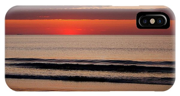 Just Showing Up Along Hampton Beach IPhone Case