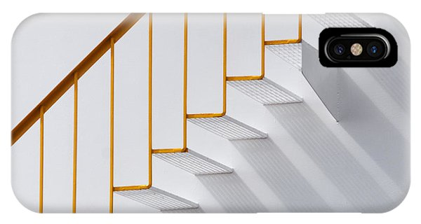 Staircase iPhone Case - Just Steps by Jacqueline Hammer
