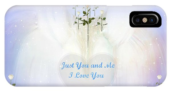 Just You And Me I Love You Phone Case by Sherri's Of Palm Springs