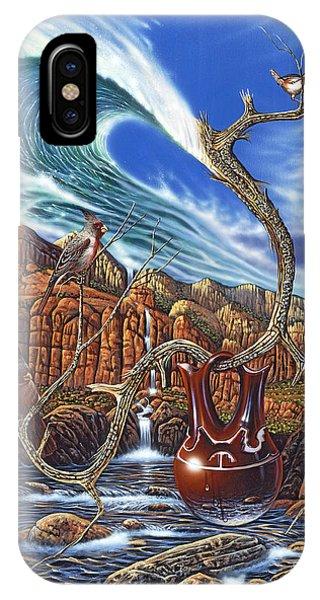 Tidal Waves iPhone Case - Juxtapostion by Ricardo Chavez-Mendez